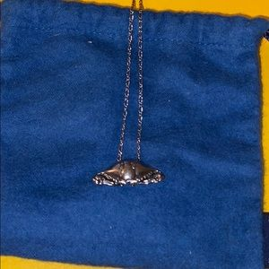 Mignon Faget Crab Pendant and Necklace